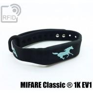 Braccialetti RFID silicone fitness MIFARE Classic ® 1K