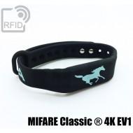 Braccialetti RFID silicone fitness MIFARE Classic ® 4K EV1