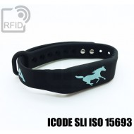 Braccialetti RFID silicone fitness ICODE SLI ISO 15693