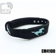 Braccialetti RFID silicone fitness EM4100