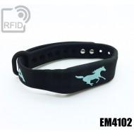 Braccialetti RFID silicone fitness EM4102