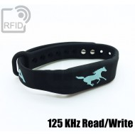 Braccialetti RFID silicone fitness Read/Write 125 Khz