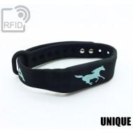 Braccialetti RFID silicone fitness UNIQUE