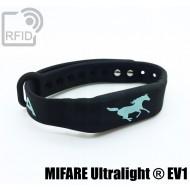 Braccialetti RFID silicone fitness NFC MIFARE Ultralight ® E