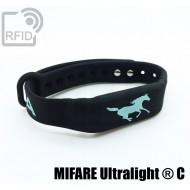 Braccialetti RFID silicone fitness NFC MIFARE Ultralight ® C