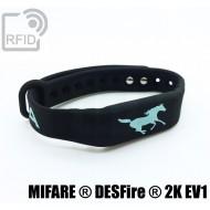 Braccialetti RFID silicone fitness NFC MIFARE ® DESFire ® 2K
