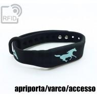Braccialetti RFID silicone fitness apriporta/varco/accesso