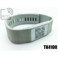 Braccialetti RFID silicone banda TK4100
