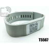 Braccialetti RFID silicone banda T5567