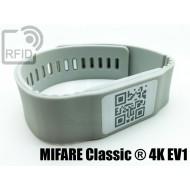 Braccialetti RFID silicone banda MIFARE Classic ® 4K