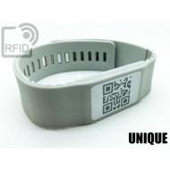 Braccialetti RFID silicone banda UNIQUE
