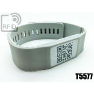 Braccialetti RFID silicone banda T5577