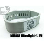 Braccialetti RFID silicone banda NFC MIFARE Ultralight ® EV1