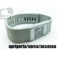 Braccialetti RFID silicone banda apriporta/varco/accesso