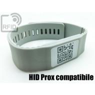 Braccialetti RFID silicone banda HID Prox compatibile 1