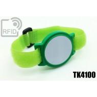 Braccialetti RFID ABS a strappo TK4100