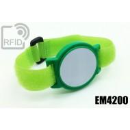 Braccialetti RFID ABS a strappo EM4200