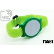 Braccialetti RFID ABS a strappo T5567 1