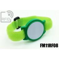 Braccialetti RFID ABS a strappo FM11RF08