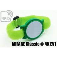 Braccialetti RFID ABS a strappo MIFARE Classic ® 4K
