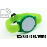 Braccialetti RFID ABS a strappo Read/Write 125 Khz