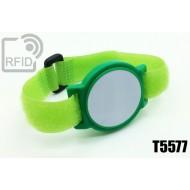 Braccialetti RFID ABS a strappo T5577 1