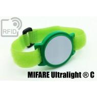 Braccialetti RFID ABS a strappo NFC MIFARE Ultralight ® C