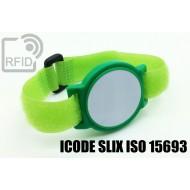 Braccialetti RFID ABS a strappo ICODE SLIX ISO 15693