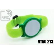 Braccialetti RFID ABS a strappo NFC NTAG213