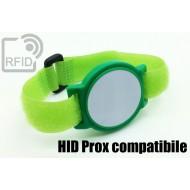 Braccialetti RFID ABS a strappo HID Prox compatibile 1