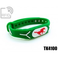 Braccialetti RFID silicone rilievo TK4100