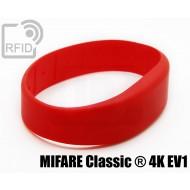 Braccialetti RFID silicone fascia MIFARE Classic ® 4K EV1 1