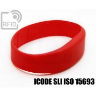Braccialetti RFID silicone fascia ICODE SLI ISO 15693