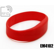 Braccialetti RFID silicone fascia EM4102