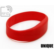 Braccialetti RFID silicone fascia UNIQUE