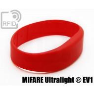 Braccialetti RFID silicone fascia NFC MIFARE Ultralight ® EV