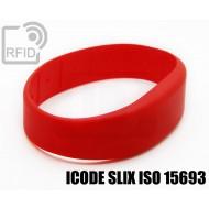 Braccialetti RFID silicone fascia ICODE SLIX ISO 15693