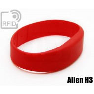 Braccialetti RFID silicone fascia Alien H3