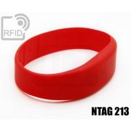 Braccialetti RFID silicone fascia NFC NTAG213
