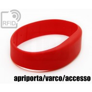 Braccialetti RFID silicone fascia apriporta/varco/accesso
