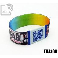 Braccialetti RFID elastico 25 mm TK4100