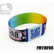Braccialetti RFID elastico 25 mm FM11RF08