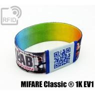 Braccialetti RFID elastico 25 mm MIFARE Classic ® 1K