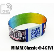 Braccialetti RFID elastico 25 mm MIFARE Classic ® 4K