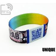Braccialetti RFID elastico 25 mm UNIQUE