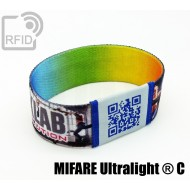 Braccialetti RFID elastico 25 mm NFC MIFARE Ultralight ® C
