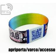 Braccialetti RFID elastico 25 mm apriporta/varco/accesso