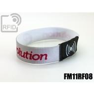 Braccialetti RFID elastico 15 mm FM11RF08