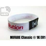 Braccialetti RFID elastico 15 mm MIFARE Classic ® 1K