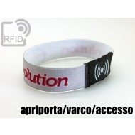 Braccialetti RFID elastico 15 mm apriporta/varco/accesso